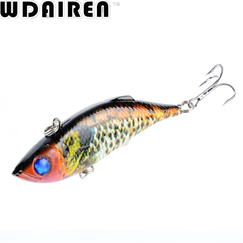 WDAIREN 1Pcs VIB Fishing Lures Rattlesnake 8cm 11.8g Fishing Lure Vibration For All Water Levels Wobblers Hooks Carp Bait WD-389 wdairen 4 5cm 7g top water swim winter