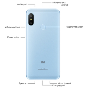 """Image 5 - In Stock! Global Version Xiaomi Mi A2 Lite 4GB 64GB Mobile Phone 5.84"""" Full Screen Snapdragon 625 AI Dual Cameras Android 8.1 CE"""