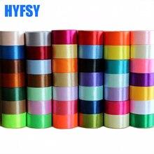 Hyfsy 10080 50 мм широкий (25 ярдов/мешок) атласная лента для ручной работы подарочная упаковка ручной работы материалов волосы лук полиэстер 5 см