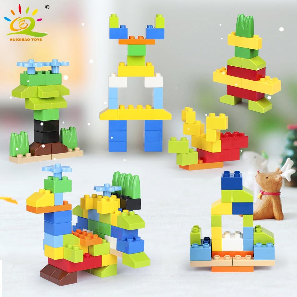 52pcs Diy Large Particles Baby Toys Building Blocks