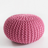 Ins Hot Pink Nordic Style Fashion Cotton Futon Sofa Tatami Meditation Cushion Yoga Round Chair Cushion
