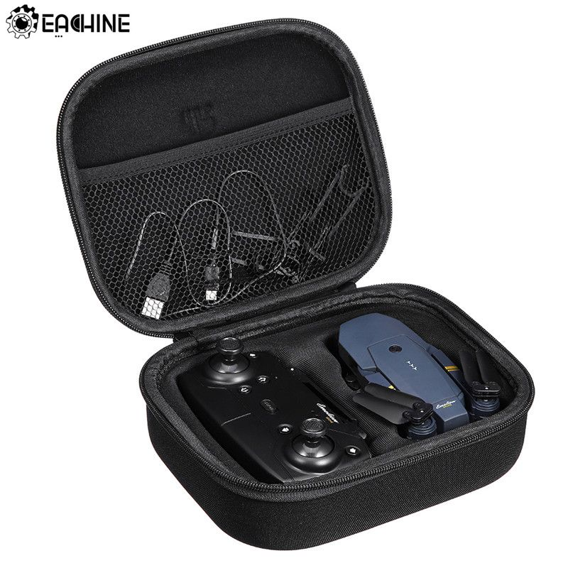 Original Hard Shell Waterproof Carrying Case Suitcase Storage Bag Box Handbag Black for Eachine E58 M69 X12 RC FPV Quadcopter