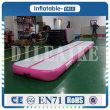Nejnovější 4 * 1 * 0.2m Nafukovací vzduchová dráha Tumbling Mat Trampolína Nafukovací vzduch Tumble Track Gym Air Mat Na prodej