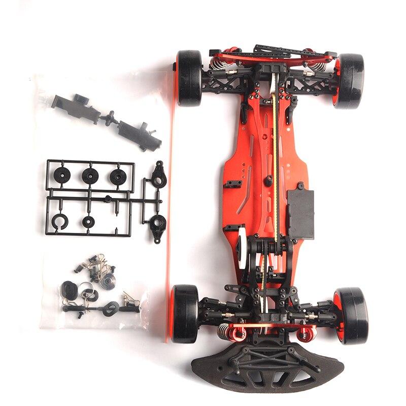 1/10 Scale RC Drift Frame Kit 4WD 646801R1 RC Body Drift Racing Car accessories 1 10 scale rc drift frame kit 4wd 646801r1 rc body drift racing car