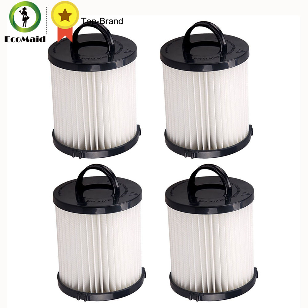 4 Eureka DCF-21 Filters Long-Life WASHABLE, REUSABLE and Allergen Filtration, Compare With Eureka DCF21 Part 68931A EF-91 EF-91B compare cheap