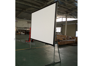 Image 4 - Wholesale Cheap Cost HD Projector Projection Screen 200 inch 16:9 Quick Install Outdoor Movie Screens Use For School Conference