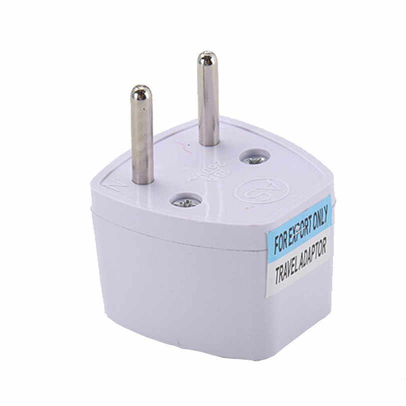 Travel ADAPTER US ไปยัง EU ยุโรปและ UNIVERSAL AC Power Plug World Adaptador de Energia Aug4 Drop Shipping