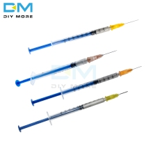 0.2ML 0.25ML 0.3ML 0.5ML Disposable Silver Conductive Glue Wire Electrically Paste Adhesive Paint PCB Repair For Electronic