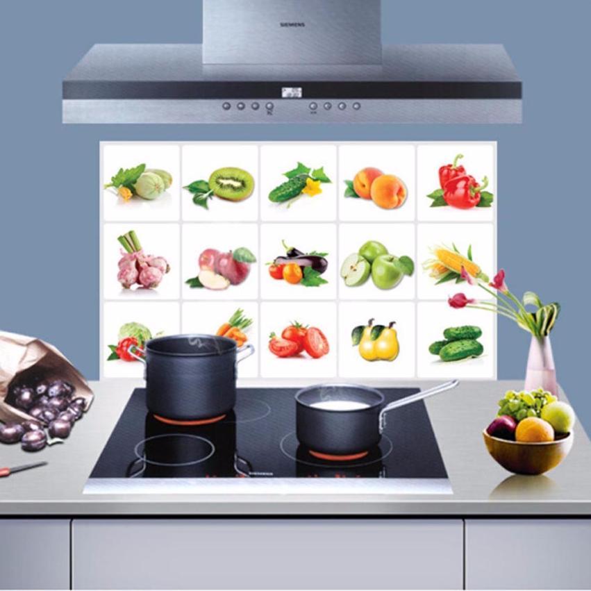 cocina extrable pegatinas de pared arte decoracin del hogar etiqueta de frutas y vegetales resistentes