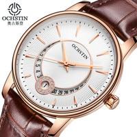 Модные Для женщин часы марки ochstin кварц часы Для женщин наручные часы Relojes Mujer платье женские часы Бизнес Montre Femme
