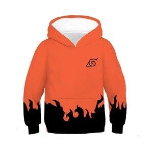 Image 4 - Kids Naruto Uchiha Sasuke Akatsuki Anime Hoodie Sweatshirt Jacket Coats Cosplay Costumes