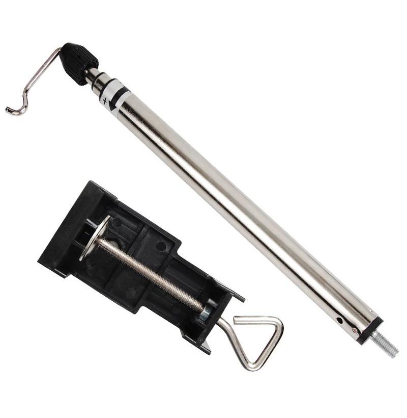 Teleszkópos asztali fogas mini elektromos fúróval felszerelt - Elektromos szerszám kiegészítők - Fénykép 4
