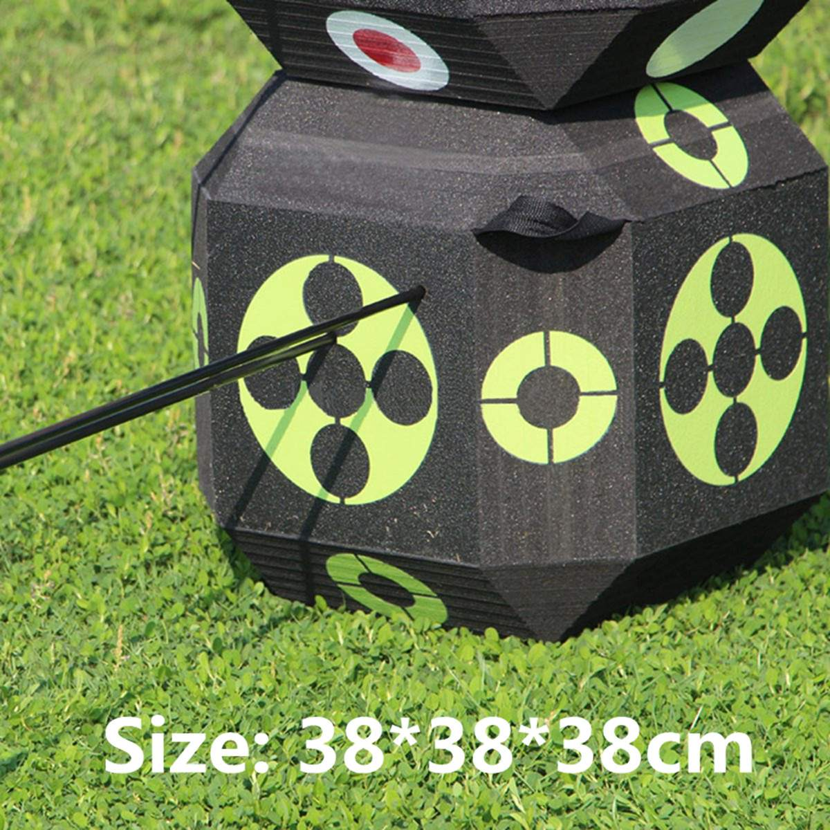 Archery 3D Target Dice 38cm Sides for Shooting Hunting Practice Training Arrow Target Cube For Recurve Bow Self Healing FoamArchery 3D Target Dice 38cm Sides for Shooting Hunting Practice Training Arrow Target Cube For Recurve Bow Self Healing Foam