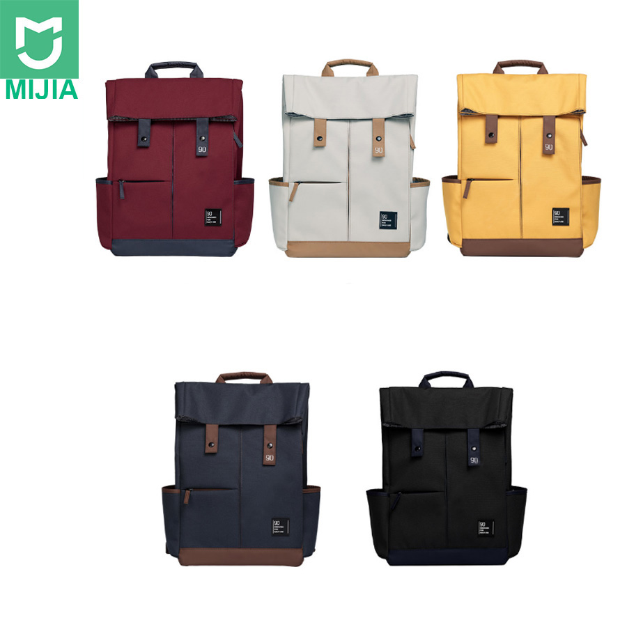 Xiaomi Youpin 90Fun collège sac casual grande capacité sac, adapté pour ordinateur portable 14-15.6 pouces