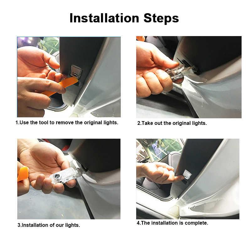 Для Ford Mondeo MK4 S-MAX лазерный проектор логотипа светильник Тень призрака светодиодный двери автомобиля Добро пожаловать световая сигнализация, световые приборы стайлинга автомобилей