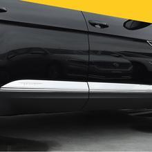 Автомобильный боковой двери кузова протектор рельефная Накладка для отделки для 17 18 для тvolkswagen VW Atlas по EMS