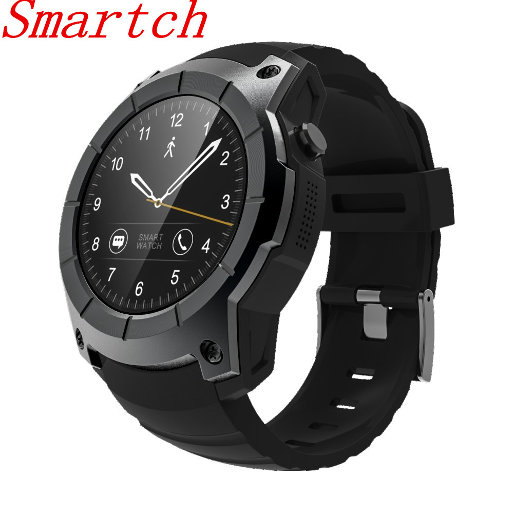 Smartch S958 Smart Watch Sport Waterproof Heart Rate Monitor dial call GPS 2G SIM Card All Compatible Smartwatch For Android IOS smartch s958 smart watch sport waterproof heart rate monitor gps 2g sim card calling all compatible smartwatch for android ios c