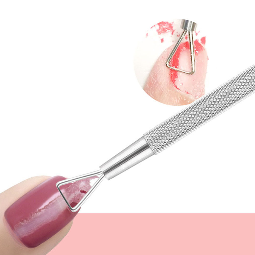 Women Nail Art Gel Remove Tool Stainless