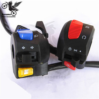 unviersal moto Modification parts motorcycle Switches for suzuki EN125 motorbike switch multi function ATV Dirt Handle switch