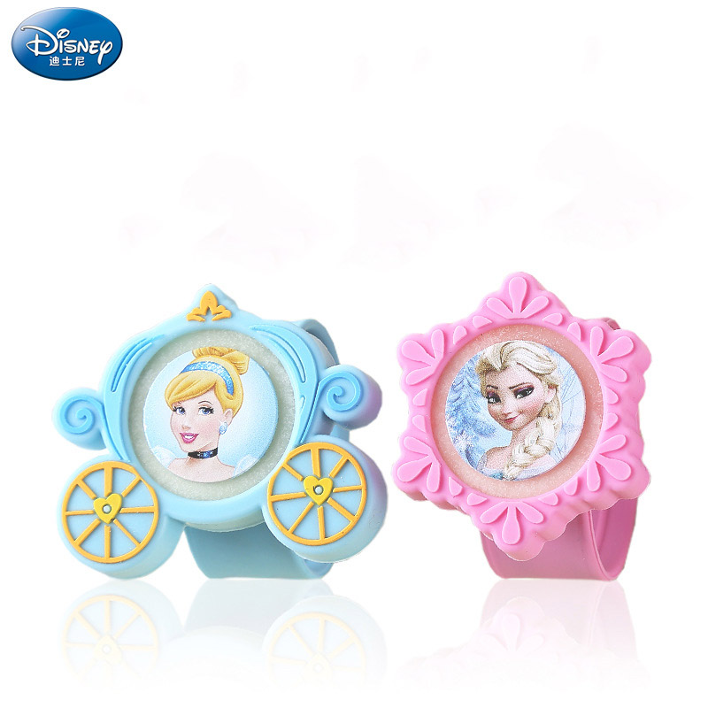 Disney Princess Girls Outdoor Mosquito Repellent Bracelet Frozen  Elsa Anna  Nail Sticker Outdoor Anti-mosquito Supplies