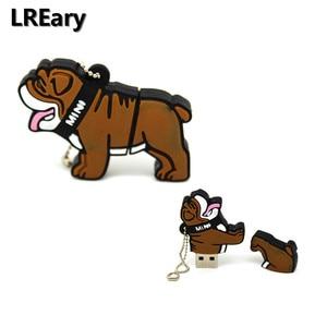 Image 5 - Lovely Mini pet dog Pen Drive Gift USB 2.0 Flash Cartoon Usb Flash Drive 4GB 8GB 16GB 32GB Pendrive U Disk memory stick pugs
