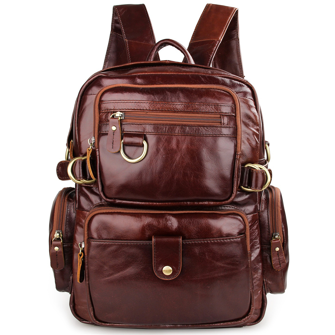 Genuine Cow Leather Vintage Backpack Men Women Travel Mochilas School Laptop Shoulder Bag Large Laptop Shopping Bag genuine cow leather vintage casual mens women backpack shoulder crossbody bags men travel backpacks for man school laptop bag
