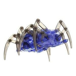 LCLL-DIY собрать умный электрический робот паук игрушка образовательный DIY комплект, Лидер продаж Сборка строительные головоломки игрушки выс...