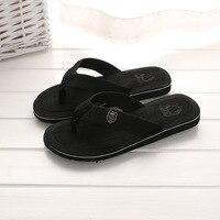 = NEW flip flop Men Flip Flops Beach Sandals Male Slipper Fashion Men Flat Flip flops sandalias Bathroom slipper