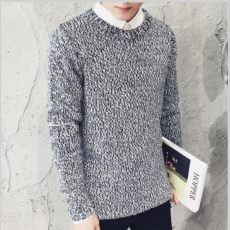 High Quality font b Men b font Autumn Pullover font b Sweater b font 0 Neck