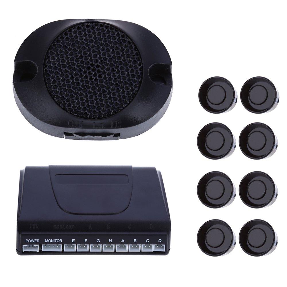 Car detector Car LED Parking Sensor Kit Display 8 Sensors 22mm 12V for All cars Reverse