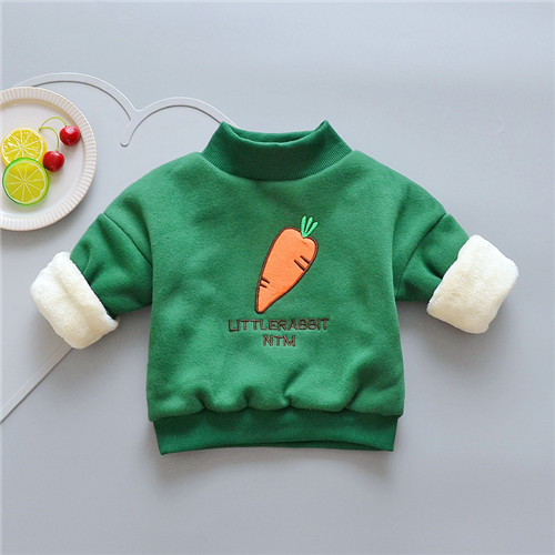 BibiCola New Winter Kids Jackets For Girls Coats Kids Cotton Sweatshirts Baby Girls Warm Cartoon Outerwear Children's Clothing