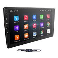 Новый 10,1 4 Core 2Din Android 8,1 автомобиль gps стерео радиоплеер DAB + OBD2 BT Зеркало Ссылка 4G Wi Fi сабвуфер SWC DVBT Бесплатная Камера