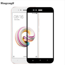 For xiaomi mi a1 5X glass tempered full cover screen protector for xiaomi mia1 glass film original for xaomi mi a1 5X case аксессуар защитное стекло для xiaomi mi a1 mi 5x neypo full screen glass gold frame nfg3330