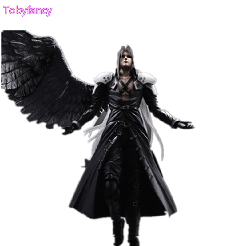 Final Fantasy Play Arts Kai Sephiroth PVC Action Figure Toy 27cm Game Anime Final Fantasy VII Playarts Kai Figurine