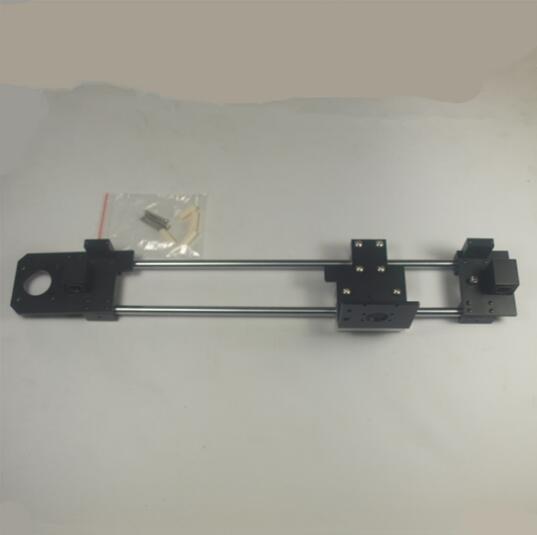 Reprap Prusa i3 rework 3D printer parts Nema 17 motor black color aluminum alloy metal X carriage +X end idler +X end motor kit