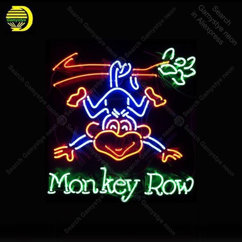 Lights & Lighting Light Bulbs Discreet Monkey Row Neon Sign Neon Bulbs Sign Custom Design Iconic Sign Beer Bar Pub Light Lamps Sign Display Advertise Enseigne Lumine Fine Craftsmanship