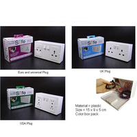 Wall Plug Socket Safes Anti Theft Fake Socket Hidden Secret Safe Box Money Jewelry Valuables Storage