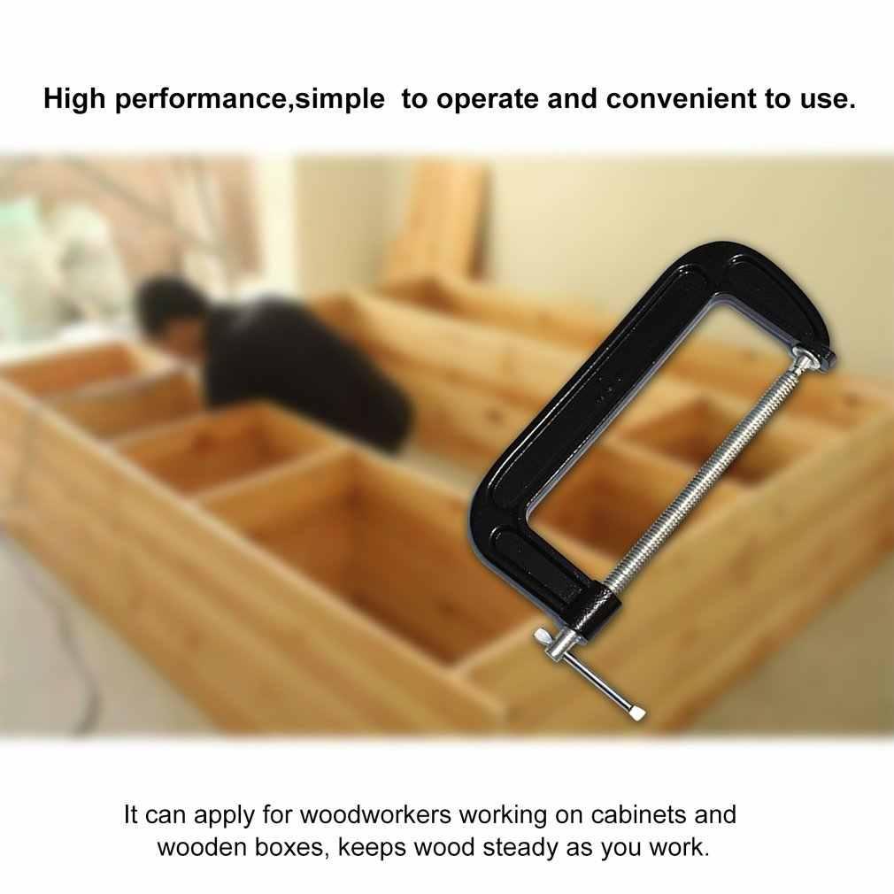 Profissional 2/4/6 Polegada ferro madeira cola braçadeira de tubulação carpintaria carpinteiro braçadeira vice ferramentas manuais para trabalhar madeira ferramentas