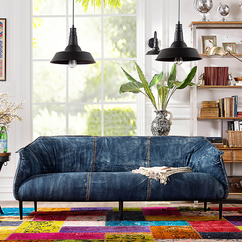 Aliexpress.com : Buy [Brand Troupe after modern vintage denim fabric living  room sofa soft cloth bag from Reliable bag case suppliers on Love in the  house ... - Aliexpress.com : Buy [Brand Troupe After Modern Vintage Denim