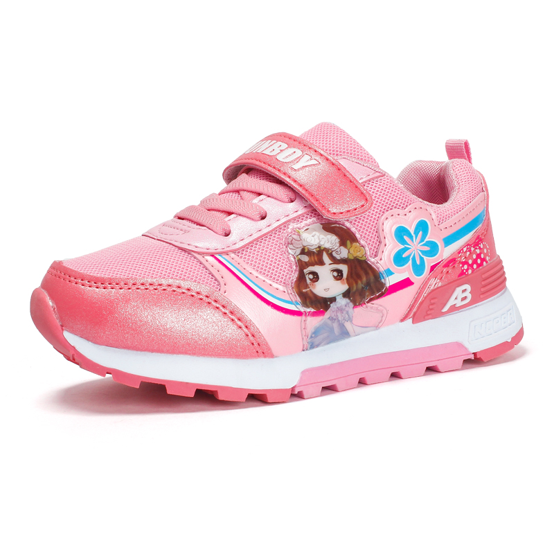 Hot Sale Kids Shoes for Girl Casual Mesh Sport Female Children Shoes Toddler Tennis Krasovki Girls Sneakers Princess Trainers