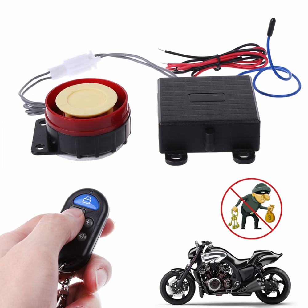 Top Quality 1 Pc Scooter Car Security Alarm System Remote