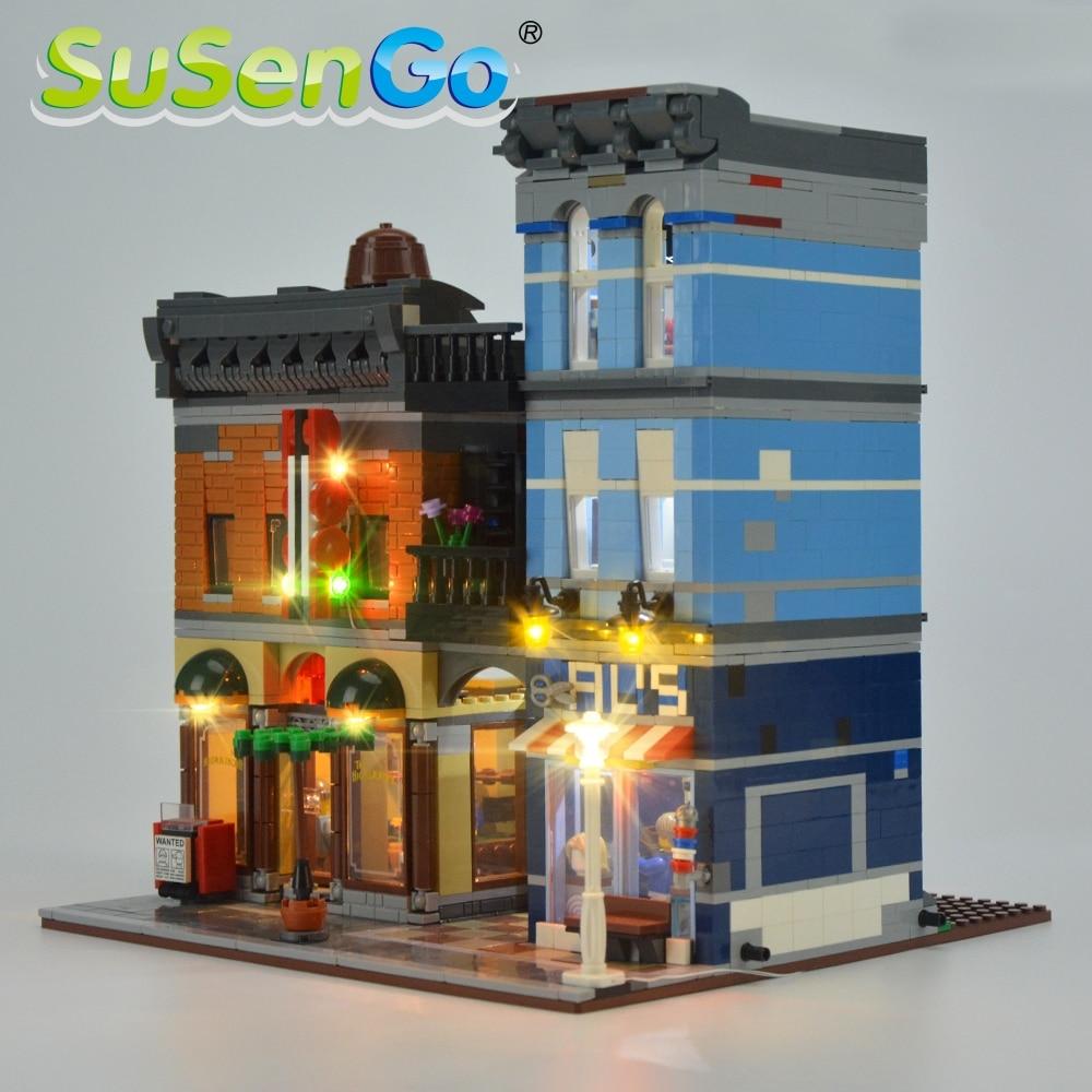 Kit d'éclairage SuSenGo LED pour l'ensemble d'éclairage de bureau - Concepteurs et jouets de construction - Photo 3