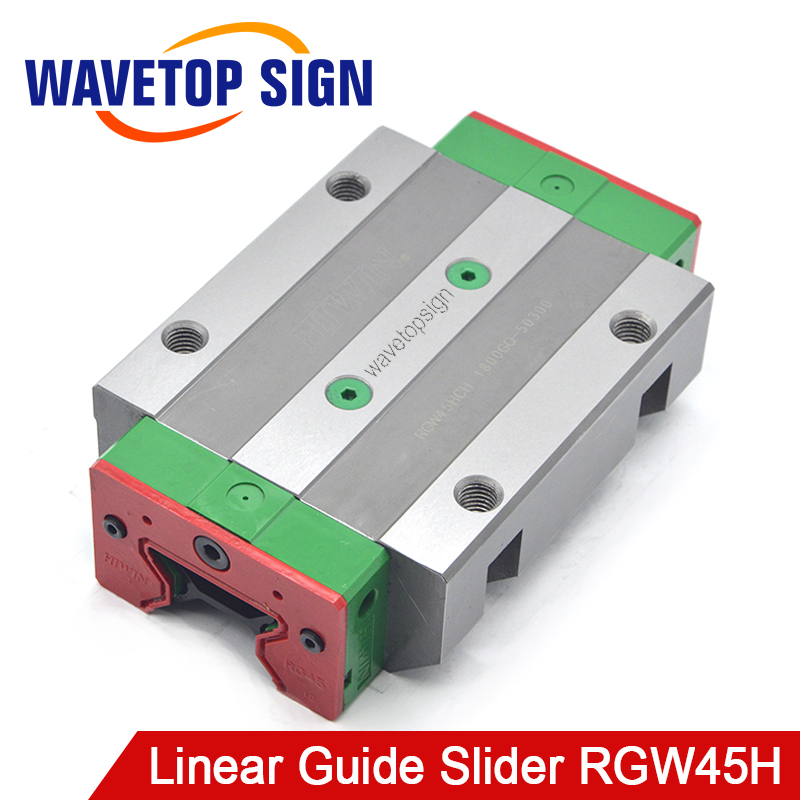 HIWIN Silent Slider Linear Guide Slider RGW45H Linear Guide use for Linear Rail CNC Diy Parts large format printer spare parts wit color mutoh lecai locor xenons block slider qeh20ca linear guide slider 1pc