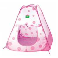 Children Beach Tent Baby Toy Play Game House Kids Princess Prince Castle Pink Dots Indoor Outdoor