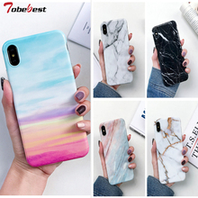 Marble Case For Samsung Galaxy A50 Coque A10 M10 A20 A30 Capas Soft TPU Silicone IMD Back Cover
