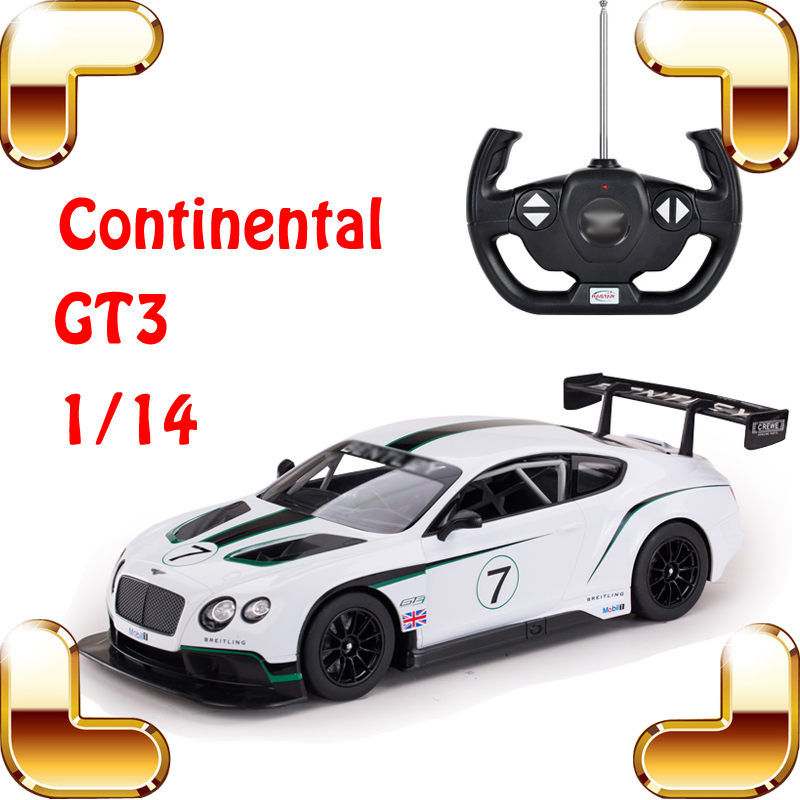 New Year Gift 1/14 Continental GT3 RC Racing Car Model Electric Toy Drift Vehicle USB Electric Speed Motor Collection Present fifty shades darker