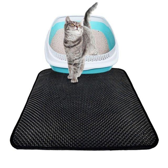 Non Slip Waterproof Cat litter Trapper Mat 1