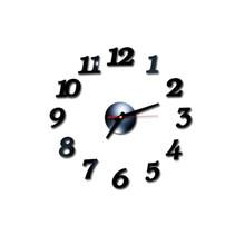 Настенные стикеры 3D DIY римские цифры акриловые зеркальные часы домашний декор настенные наклейки Современный дизайн механизм кухня гостиная 19JUL23