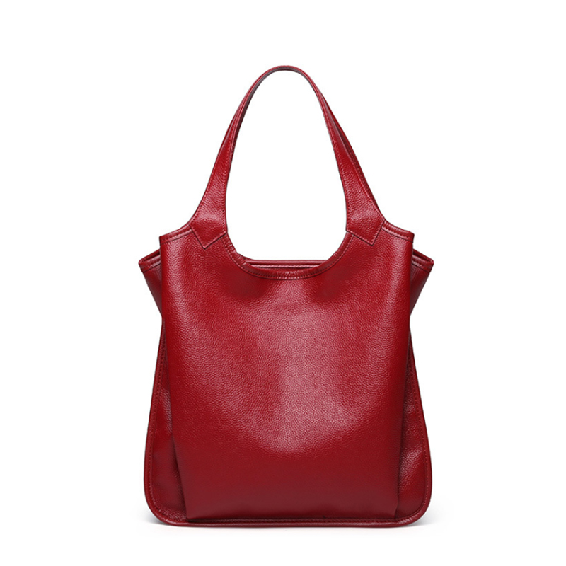 Genuine Leather Women Bags Classic Large Capacity Female Handbags High Quality Natural Leather Shoulder Bags Ladies Casual Tote genuine leather women bags classic large capacity ladies handbags high quality natural leather shoulder bag female casual tote