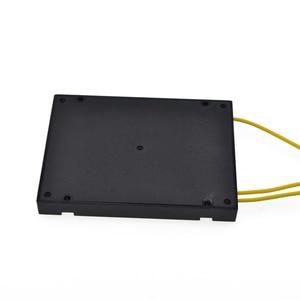 Image 3 - High Quality SC UPC PLC 1X2 Fiber Optic splitter Box With SC UPC conector PLC 1X2 SM ABS Optical Splitter Free shipping